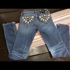 Miss me kids skinny jeans size 16